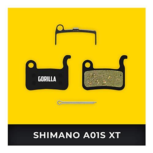 Shimano Bremsbeläge A01S XTR BR-M975 M966 M965 Saint M800 XT M776 SLX M665 Hone M601 Deore M596 für Fahrrad Scheibenbremse I Organisch I Langlebiger & Passgenauer Bremsbelag