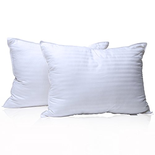 Milddreams Pillows for Sleeping 2 Pack Queen Size 20x30 inch – Set of 2 Bed Pillows - Best Hotel Pillow - Soft Hypoallergenic Material Goose Down Alternative