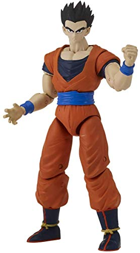 Dragon Ball-35992 Goku Super Saiyen Figura Deluxe Gohan Mís