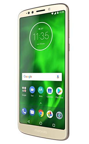 Motorola G6 Play Smartphone (HD Display 14,47 cm (5,7 Zoll), 13 MP Kamera mit Autofokus, Qualcomm Snapdragon 430, Android 8.0 Oreo), 32 GB Gold (Generalüberholt)