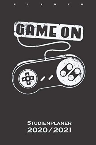 Game On alter Controller Videospiele Studienplaner 2020/21: Semesterplaner (Studentenkalender) für Fans und Freunde der digitalen und unbegrenzten Welt im world wide web