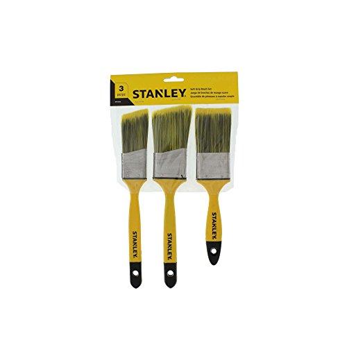 Stanley Polyester Flat Beavertail Soft Grip Paintbrush