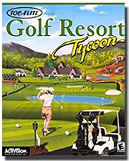 Brand New Activision Golf Resort Tycoon Design Your Own Golf Resort And Maximize Your Resources