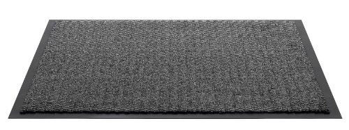 Felpudo F&S Spectra, Resistente y Lavable, 60 x 80 cm, Color Gris Claro, Fabricado en Europa.