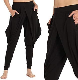 Proyog Womens Harem Dhoti Pants Organic Cotton Modal (X-Small)