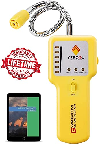 Y201 Propane and Natural Gas Leak Detector