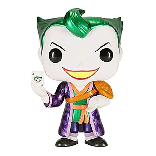 Funko Pop DC Heros #375 The Joker Metallic Asia Limited Edition with Pop Original Box Chibi