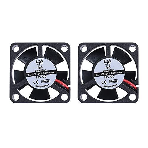 BIQU 3010s 30 mm 30 x 30 x 10 mm 12 V 2 pines DC ventilador de refrigeración pequeño para pieza 3D Pinter
