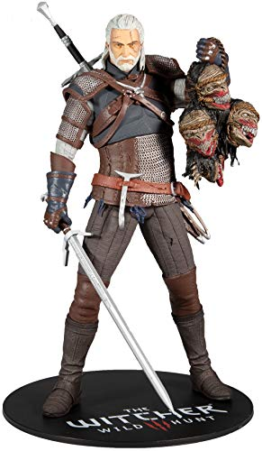 McFarlane - Witcher - Geralt of Rivia 12 Deluxe Figure, multicolore