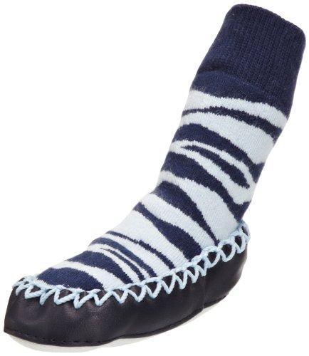 HIP HOP SLAM. SPIG - Calcetines para bebé, talla 6-12 Months - talla inglesa, color azul (zebra)