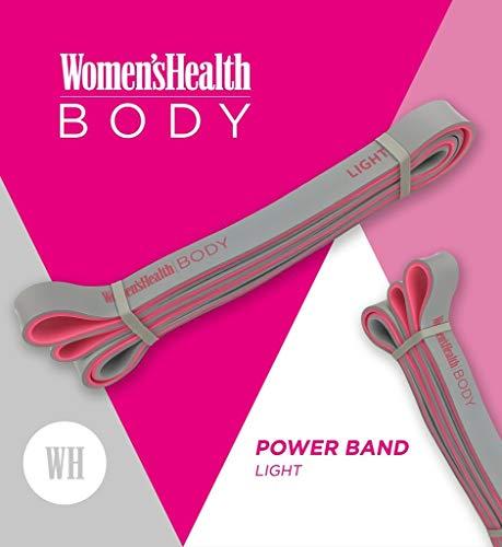 WOMEN'S HEALTH BODY Power Band | Für Crossfit, Calisthenics oder Freeletics Workout | Klimmzug-Band / Widerstandsband (HEAVY)