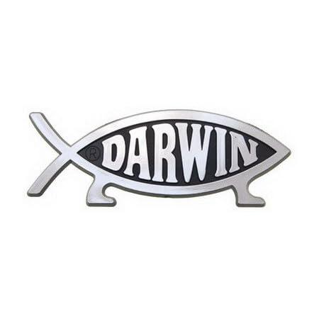 Black Online Design Darwin Fish Sticker Car Decal Evolve