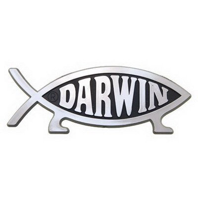 Darwin Fish Car Emblem