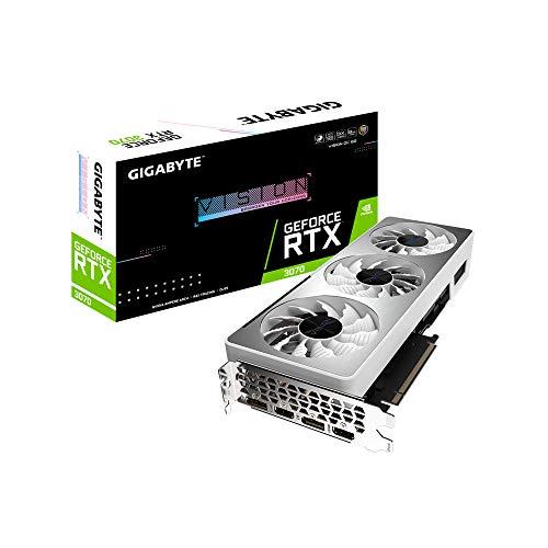 Gigabyte GeForce RTX 3070 VISION OC - Scheda grafica da 8 GB