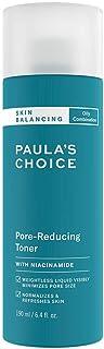 """Paula""""s Choice Skin Balancing Gesichtswasser - Toner Mattiert Fettige Haut & Verkleinert die Poren - Bekämpft Unreine Haut & Mitesser - mit Niacinamid - Mischhaut bis Fettige Haut - 190 ml"""