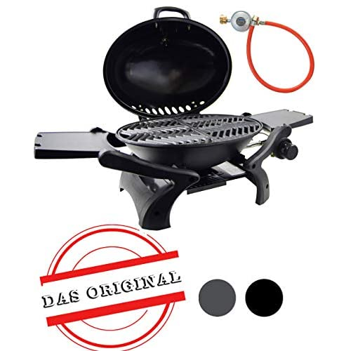 ACTIVA Crosby Gas Table Grill, Black, 37 x 41 x 45.5 cm