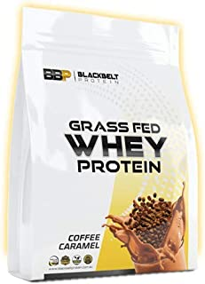 Black Belt Protein Whey Protein Concentrate - Aids Muscle Recovery, Builds Lean Muscle (Coffee Caramel, 1KG)
