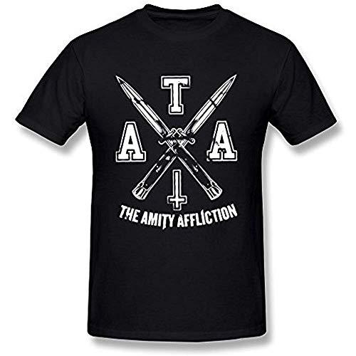 Resdert Men's The Amity Affliction Logo T-Shirts Size:M