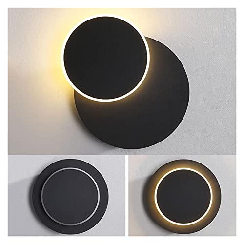 lámpara de pared Lámpara de pared de pasillo de pasillo de la personalidad nórdica de la personalidad 360 grados rotativos creativos DIRIGIÓ Lámpara de pared de cabecera acrílico DIRIGIÓ Luz de pared