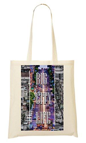 San Francisko Traffic | Life | Series | Popular Words | Osom Quotes | Cool T Shirt | Nice To | Super | Beautiful Landscape Tragetasche Einkaufstasche