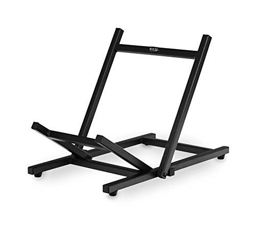 Rocktile CS-30 Amp Floor Stand (Verstärker Schrägsteller Ständer, belastbar bis 30 kg, verbessert den Abstrahlwinkel Ihres Combos, robust, flach zusammenklappbar) schwarz