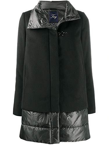 Fay Luxury Fashion Donna NAW24413780SHNB999 Nero Poliammide Cappotto |...