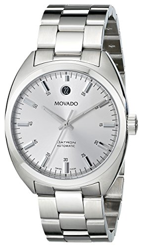 Movado Men's 0606360 'Datron' Stainless-Steel...