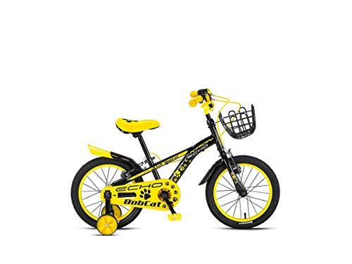 Descheemaeker - Bicicletta da bambino Bobcat 16', colore: Giallo/Nero