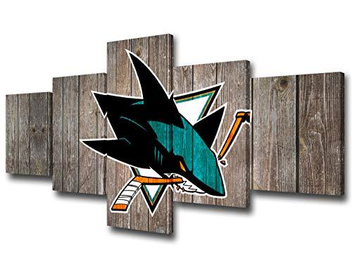 San Jose Sharks NHL Framed 8x10 Photograph Team Logo and Hockey Puck