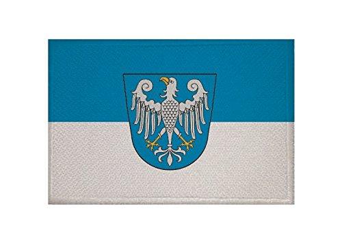 U24 Aufnäher Arnsberg Fahne Flagge Aufbügler Patch 9 x 6 cm