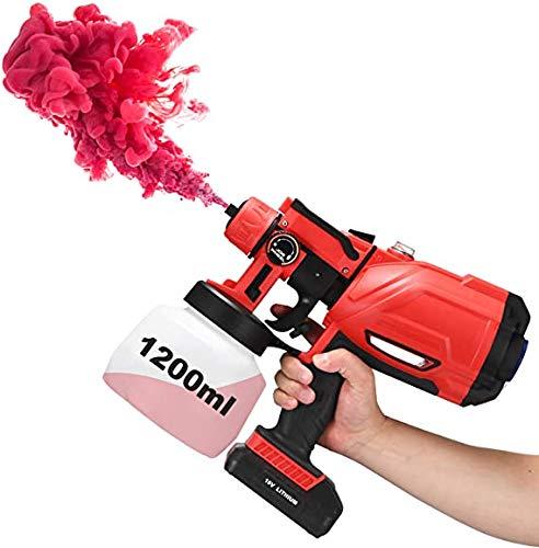 Pulverizador De Pintura Bateria Marca TOPQSC