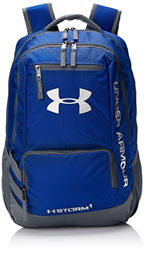 Under Armour Storm Hustle II Backpack, Royal (400)/Silver, One Size Fits All