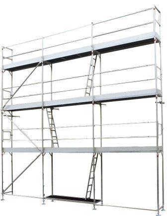 ALTEC Alu Fassadengerüst AluSprint 90 m², kein Stahl!