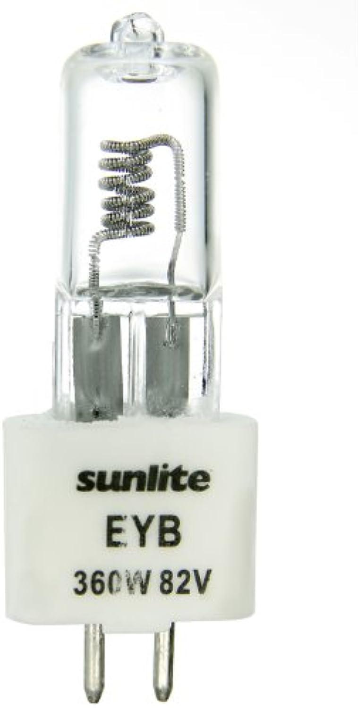 Sunlite Eyb (Fluss) 360W T3.5 82V CL G5.3360-watt 82-volt Doppelpin basierend Stage und Studio T3.5Glühbirne, klar, 360 wattsW 82 voltsV