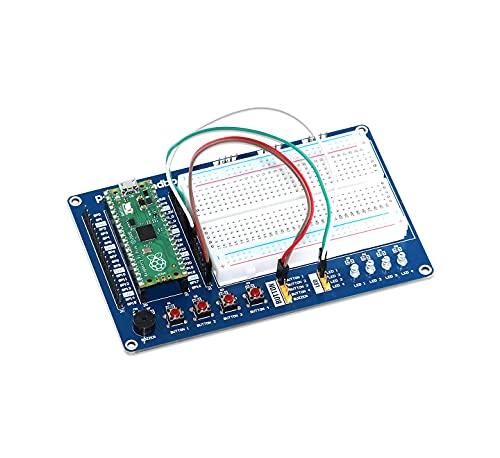 sb components Raspberry Pi Pico Board con Raspberry Pi Pico, kit de tabla de pruebas multiusos Raspberry Pi Pico