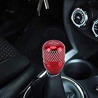 ギアレバーノブ ほとんどの車のために適したカーギアシフトノブ自動トランスミッションシフトレバーノブギアノブを、変更された車のギアシフトノブ (Color : Red)