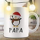 N\A Papa Gift Pinguino Tazza Natalizia Tazza Natalizia Tazza Natalizia Tazza Natalizia Divertente Tazza Divertente Tazza Coordinata Tazze familiari Tazza da caffè