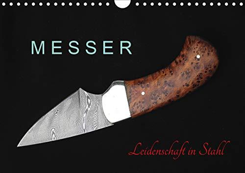 Messer - Leidenschaft in Stahl (Wandkalender 2021 DIN A4 quer)
