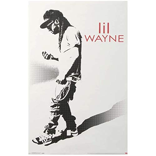 wzgsffs Póster E Impresiones De Lil Wayne Hustle Impresión De Arte De Pared En Lienzo para Sala De Estar Dormitorio En Casa Cafe Bar Decorativo -20X28 Pulgadas X 1 Sin Marco