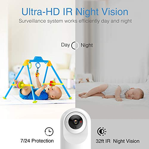 WiFi Camera Baby Camera Smart Home Wireless IP Camera