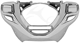 XMT-MOTO Chrome Front Lower Cowl Cowling for Honda GL1800 GL 1800 Goldwing 2012 2013 2014