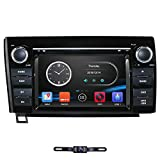 7 Inch Screen for 2007-2013 Tundra/ 2008-2014 Sequoia Car Stereo DVD Player in Dash GPS Navigation Support FM/AM Bluetooth/RDS/SWC/Mirrorlink with Free Backup Camera