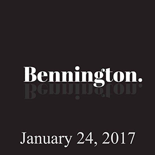 Bennington, January 24, 2017 audiobook cover art