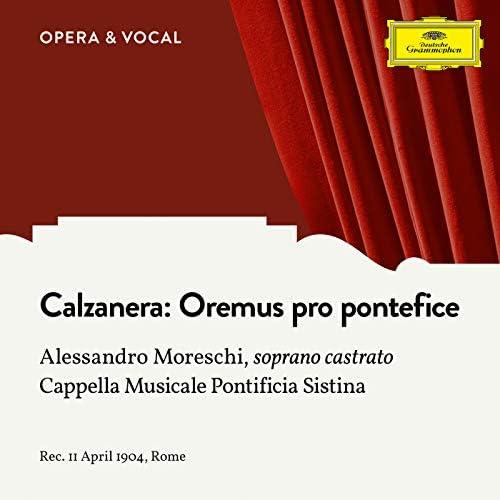Alessandro Moreschi, Cappella Musicale Pontificia Sistina & Rudolph Kanzler