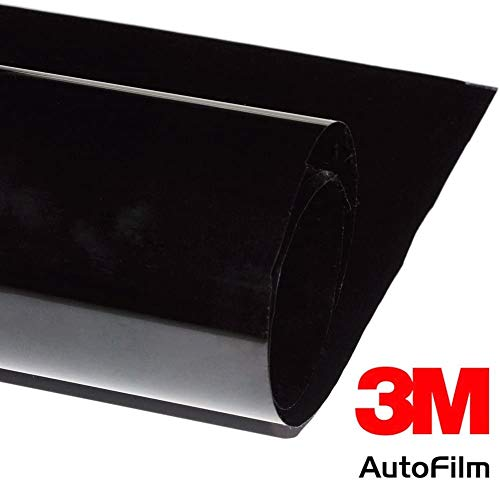 26,08€/qm 3M FX-ST 5 Profi Auto Tönungsfolie tief schwarz 51 cm x 300 cm mit ABG (TÜV-frei)