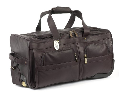 Claire Chase Rolling Duffel, Cafe, One Size