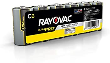 6-Count Rayovac Ultra Pro Alkaline C Cell Batteries