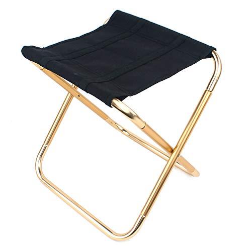 Xrten Ultraleicht Klappstuhl aus Aluminium,Tragbar Klappbar Sitzhocker für Camping,Angeln,Reisen