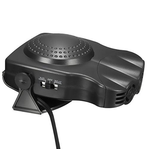 Car Heater,CHELIYA Portable Winter Car Heater 2 in1 Auto Car Van Heater Defroster Cool Fan 12 Volt 150W Winter Windscreen Window Demister