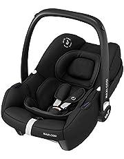 Maxi-Cosi 8558672110 Tinca i-Size fotelik dziecięcy, grupa 0+ fotelik samochodowy, może być używany od urodzenia do 75 cm (0-12 kg), Essential Black, czarny, 3,2 kg